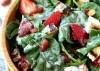 Almond strawberry apple salad