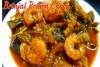 Pachchiroyyala Vankaya Curry (Prawns Brinjal Curry)