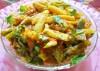 babycorn capcicum curry