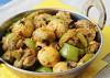 mushrooms capcicum curry