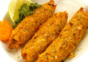 Vegetable kabab