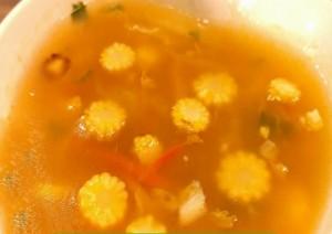 baby corn soup