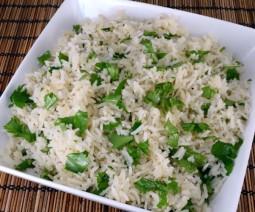 cilantro rice recipe cooking tips vegetarians special food item