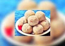 Poha Peanut Laddu