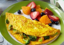 broccoli egg omelet