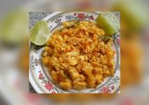 cauliflower egg fry
