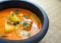 mango fish curry
