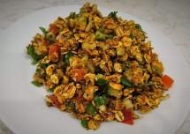 oats bhel puri