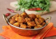 punjabi style aloo fry