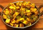 Capsicum paneer Curry Recipe
