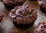 Chocolate Muffins  making