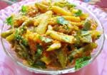 baby corn -capcicum curry