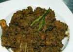 chicken and chinta chiguru curry