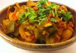 chikkudukaya tamato curry