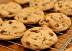 chocolate chip cookies making sweet buscuits childrens special