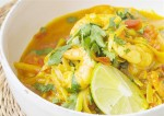 geen chilli - prown curry