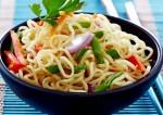 hot noodles recipe making breakfast special food