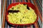 Mango Rice, special green mango rice, healthy mango rice, pachi mamidi kaya rice.