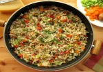 mixed veg pepper rice recipe
