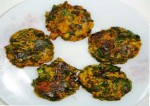 vada with spinach