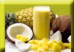 pine apple coconutmilk juice