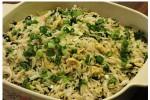 spinach garlic rice| brown rice recipe| healthy rice recipe