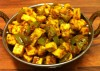 Capsicum paneer Curry