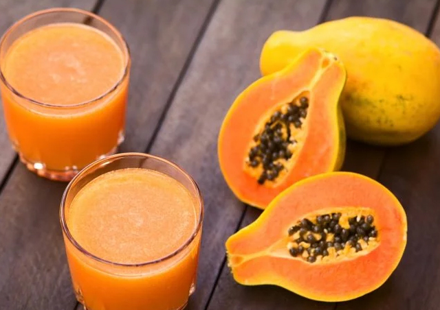 Papaya Juice - telugufoodrecipes.com